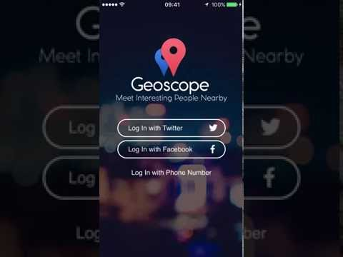 Geoscope — Meet Interesting People Nearby, Chats with Strangers
