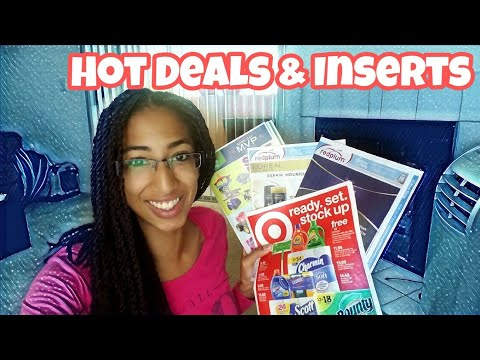 Coupon Updates! 3 Inserts & Target Deals