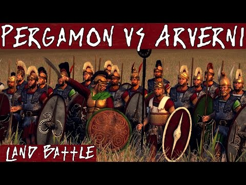 Total War Rome 2 Online Battle 227 Pergamon vs Arverni