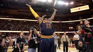 LeBron James Game 2 of the 2015 NBA Finals HD
