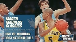UNC vs. Michigan: 1993 National Championship | FULL GAME