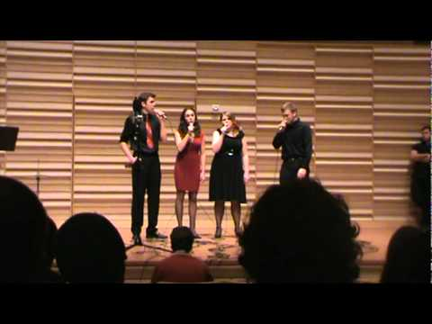 Fredonia Vocal Jazz Ensemble - Because - Lennon/McCartney - Arr. Mike Hall