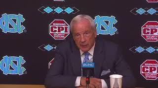 UNC Men's Basketball: Roy Williams Post WCU Press Conference