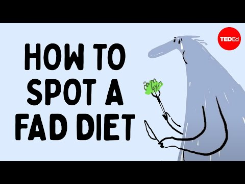 Video image: How to spot a fad diet - Mia Nacamulli