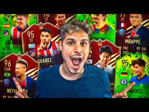 LAS NUEVAS RECOMPENSAS TOP 100 DE FUT CHAMPIONS CON LOS TOTS DELUXE!! | FIFA 21