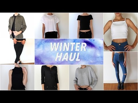 WINTER TRY-ON HAUL: Brandy Melville, Topshop, Hardware & More!