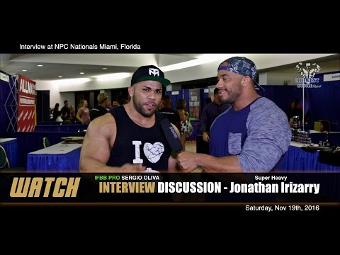 SHOW INTERVIEW | 2016 NPC Nationals with Jonathan Irizarry