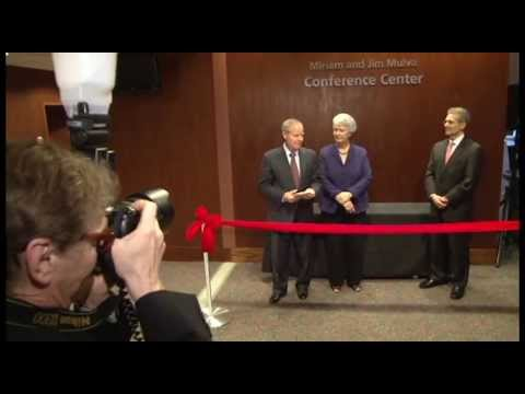 Mulvas fund lifesaving melanoma research: Conference center named in couple's honor