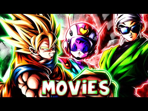 Movies team getting carried by......   Dragon Ball Legends
