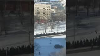 Хабаровский край, г. Амурск. Хоронят смотрящего за городом, воровского авторитета Зарубина Юрия