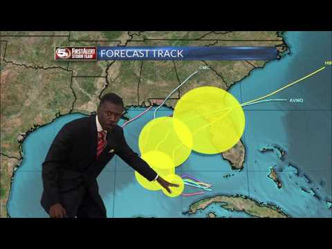 Tropical Depression 9 Forecast from Chief Meteorologist Alan Sealls