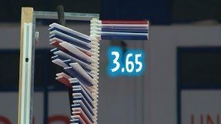 Конкурс прыжков в высоту / Russian Universiade High Jump Contest