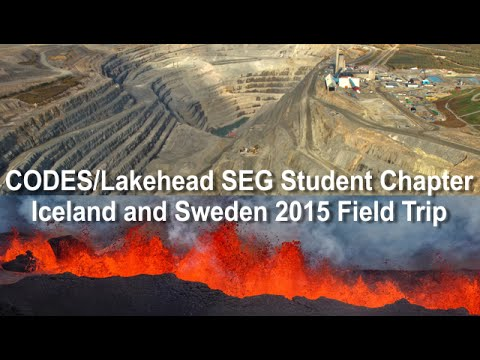 CODES/Lakehead Iceland and Sweden Field Trip (2015)