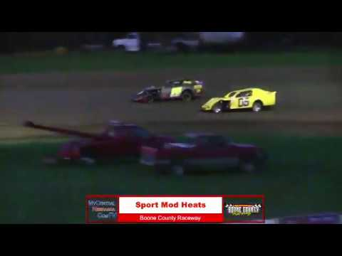 Boone County Raceway Features 5-4-18