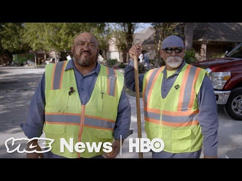 Texas' Garbagemen Are Coming To Save Houston (HBO)