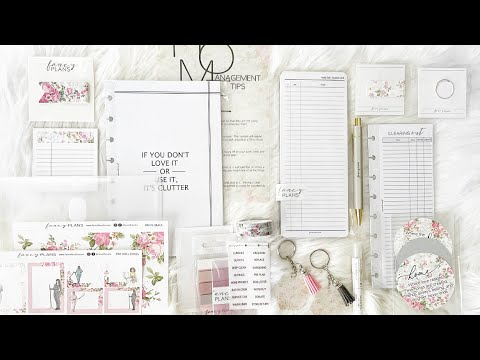 NEW Home Management Stationery Box v2 FLORALS   At Home With Quita