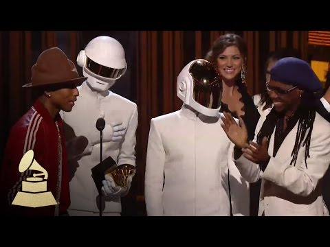 Daft Punk Win Record of the Year | GRAMMYs