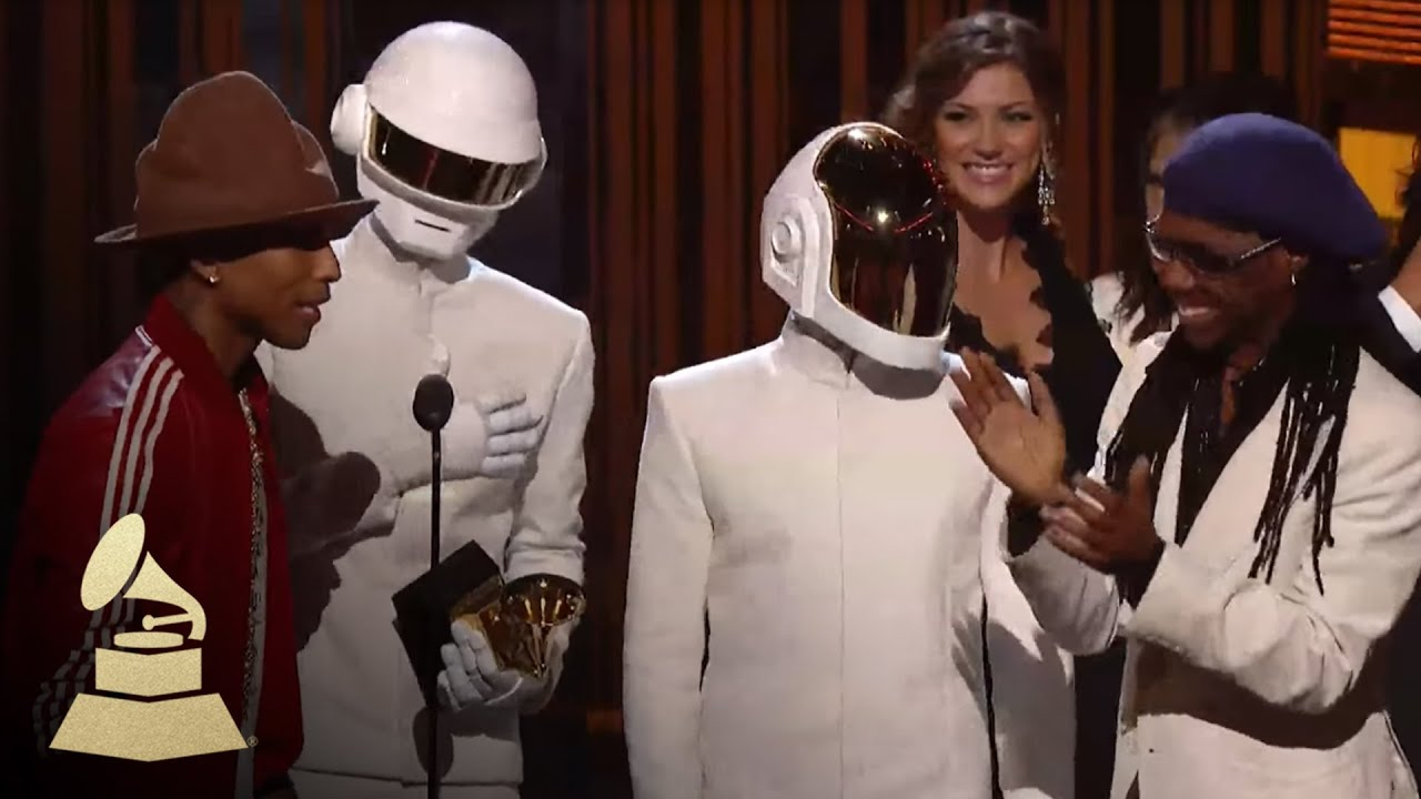 Daft Punk Win Album Of The Year | GRAMMYs - YouTube