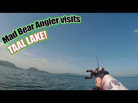 Mad Bear Angler Visits Taal Lake