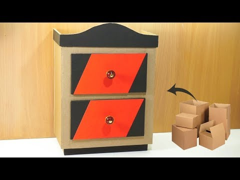 How to make Amazing furniture DIY at home very simple recycled crafts | Cardboard furniture