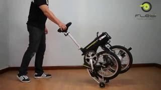 Flebi Supra 2.0: Arrastre Trolley En Posicion Plegada