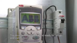 Установка частотного преобразователя ABB ACS355(Ввод в эксплуатацию преобразователя частоты ABB. Данное оборудование можно приобрести на нашем сайте, широк..., 2016-11-04T08:14:33.000Z)