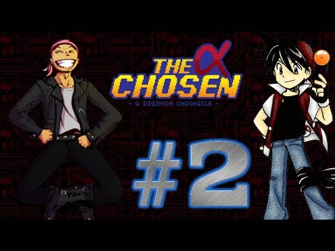 Let's Play The Alpha Chosen: A Digimon Chronicle - Parte 2 - Jackie Chang chutando bundas!