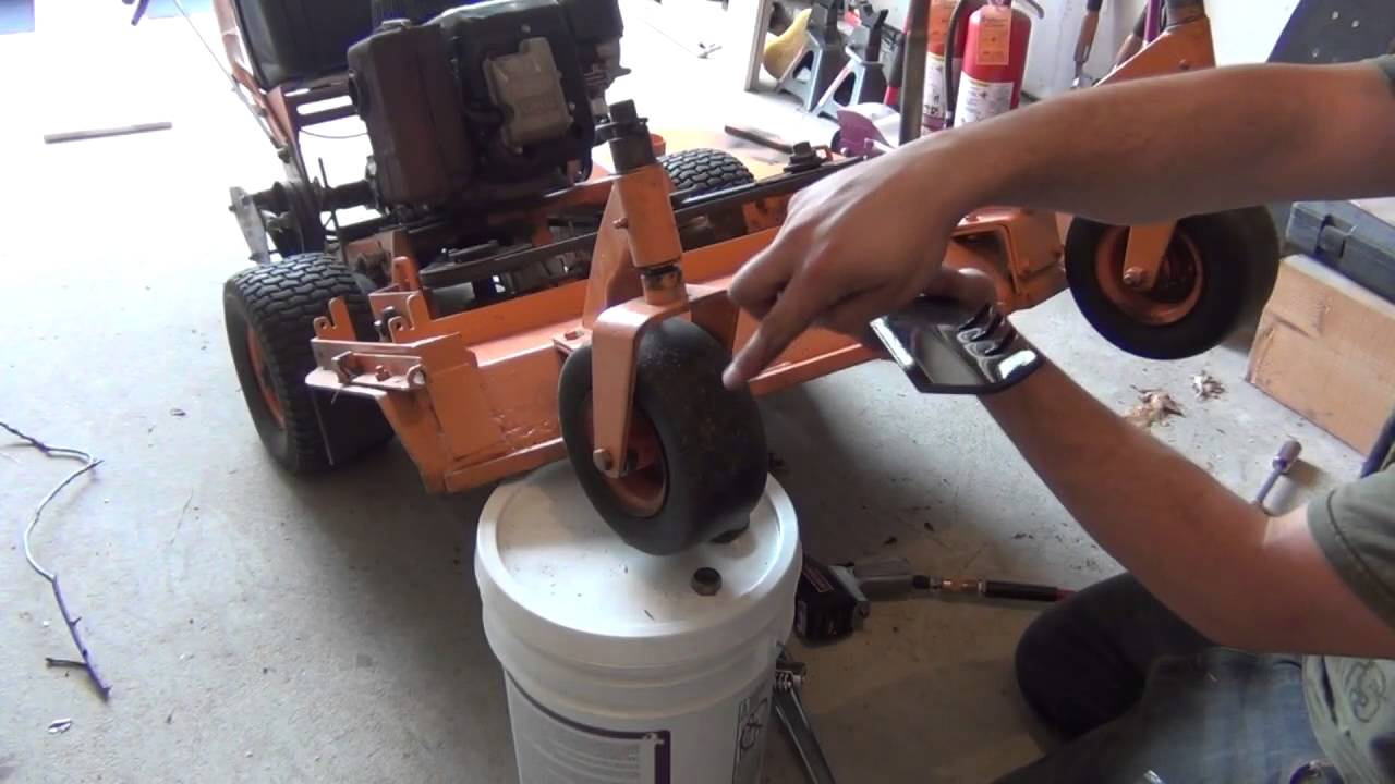 scag lawn mower tune up - youtube