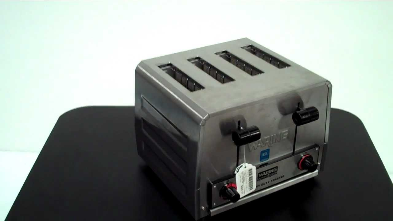 commercial medium waring slot depot spec culinary sheet toaster duty