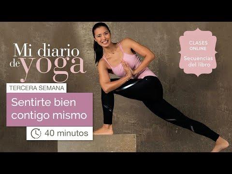 Mi Diario de Yoga: semana 3 (40 minutos)