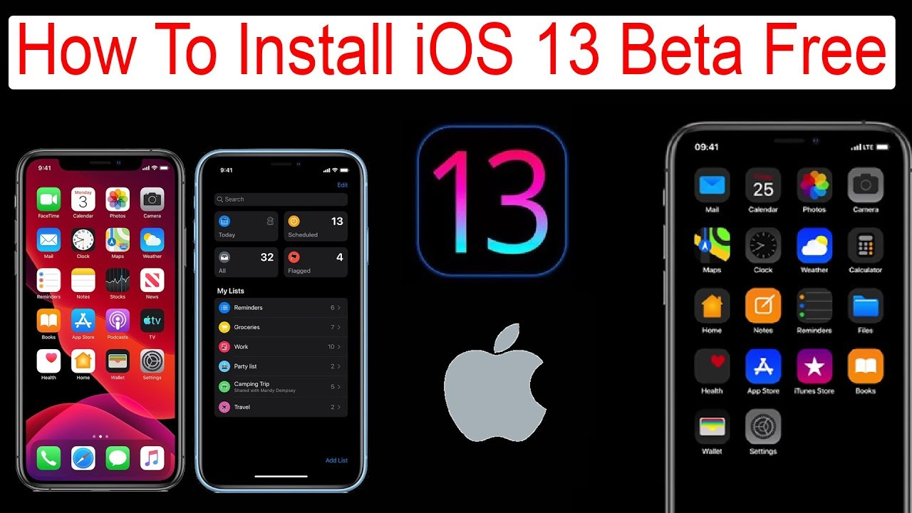 NEW* How to Install iOS 13 Beta Free Without Developer Profile