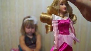 Кукла принцесса Аврора из мульт Спящая красавица Doll Princess Aurora from the film Sleeping Beauty