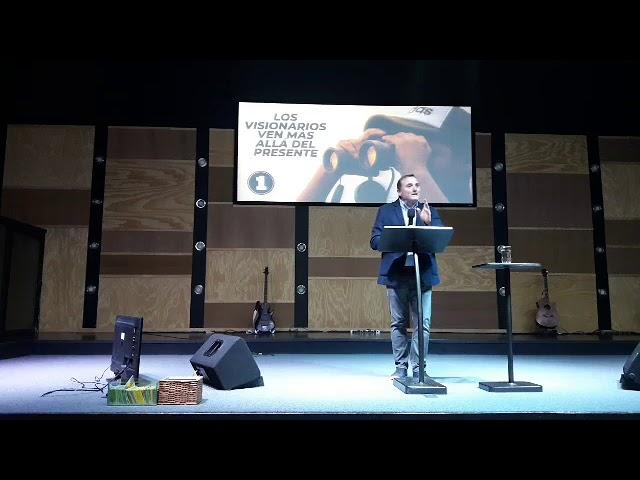 Audaz es el que proyecta y no improvisa - Pastor Diego Touzet