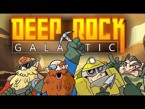 Deep Rock Galactic - Salt Mine Reunion (4-Player Early Access Gameplay)