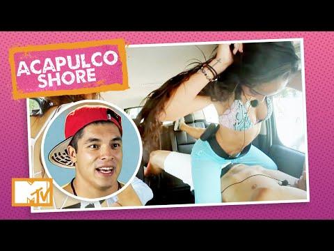 VRAU! Rolou maior roça-roça entre Mane e Jawy antes da festa no iate!   MTV Acapulco Shore T1 indir