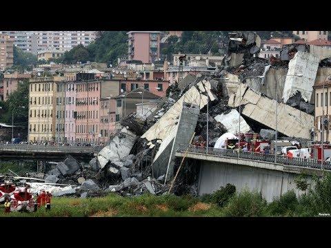 В Генуе растет число жертв обрушения моста Моранди / Новости