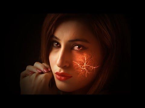 Эффект в Фотошоп Светящиеся вены/ Photoshop CS6-CC2015.5