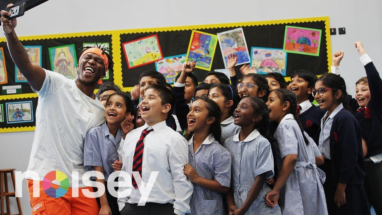 Kids Grill KSI on Bitcoin, Maths and Fancying Selena Gomez
