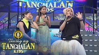 Tawag ng Tanghalan Kids: Anne bursts in laughter