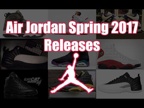 nike jordan 2017 release dates