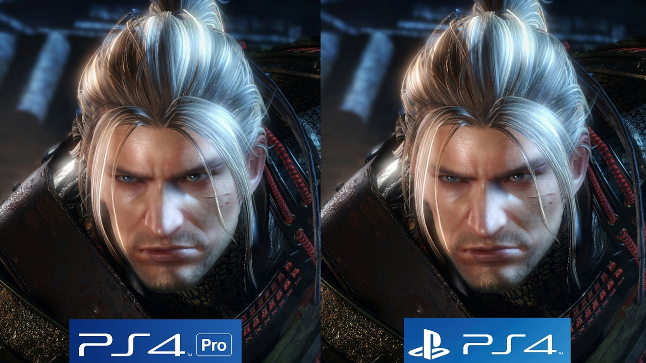 Image result for ps4 pro vs ps4 graphical comparison