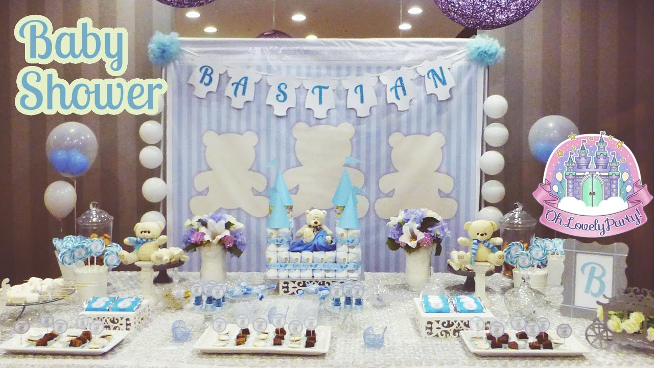 oh lovely party decoraci n de baby shower ositos youtube