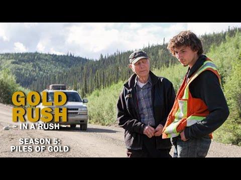 Gold rush season 5 episode 13 piles of gold gold rush in a rush recap
