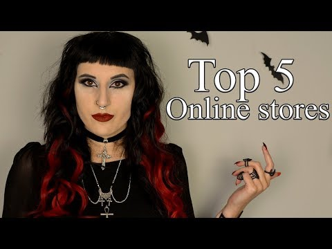 My Top 5 Alternative Online stores