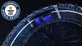 Largest loop the loop in a car - Guinness World Records