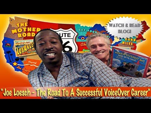 VoiceOver Audiobook Expert Joe Loesch- The Route 66 Experience