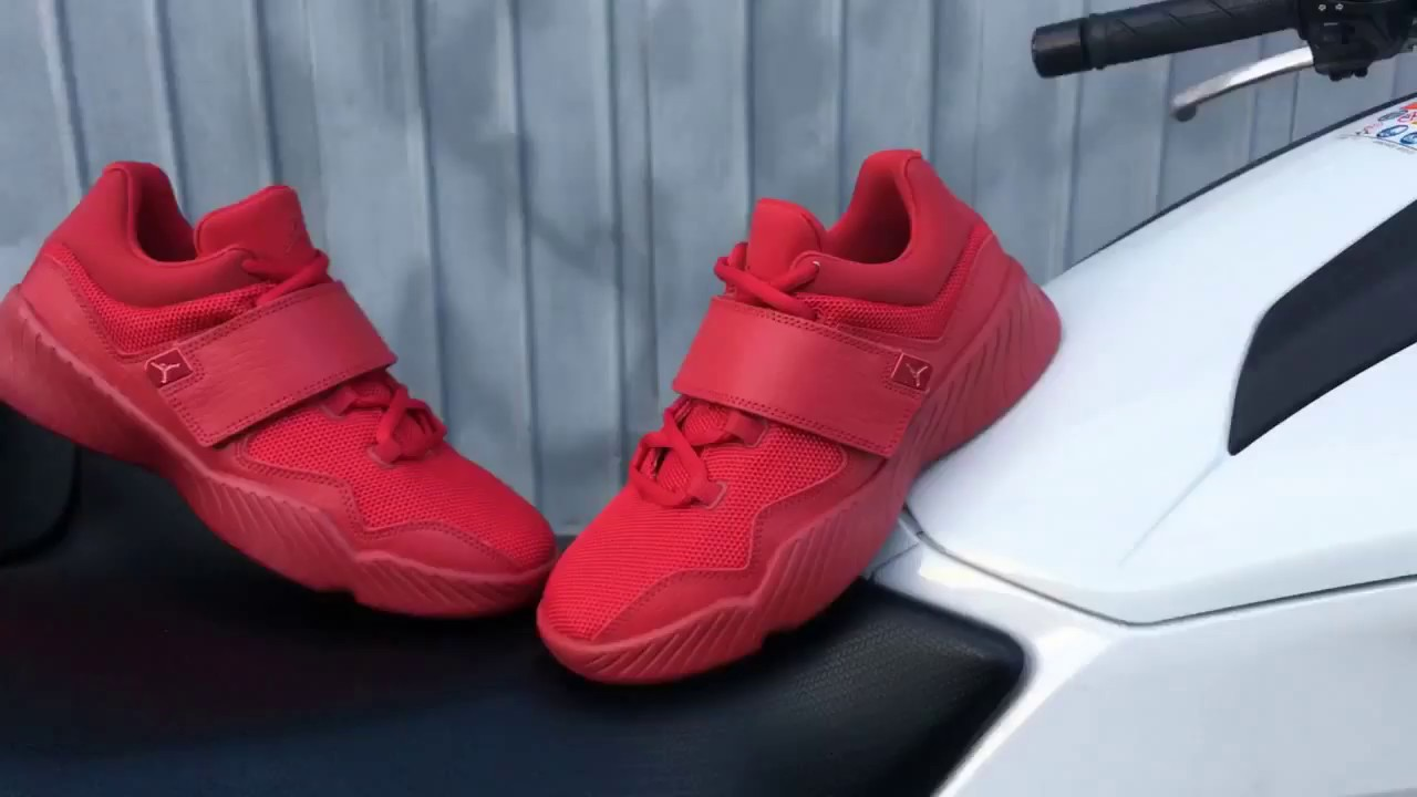 5d129eeef7f Jordan J23 Gym Red - YouTube