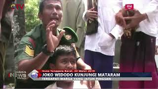 Presiden Joko Widodo Kunjungi Lombok, Seorang Warga Jatuh Pingsan saat Berebut 'Selfie' - BIM 22/03