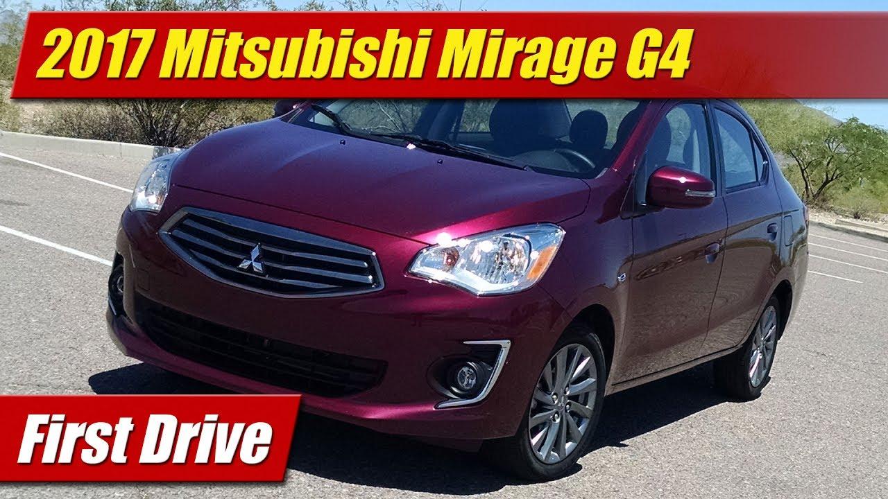 2017 Mitsubishi Mirage G4 First Drive Youtube