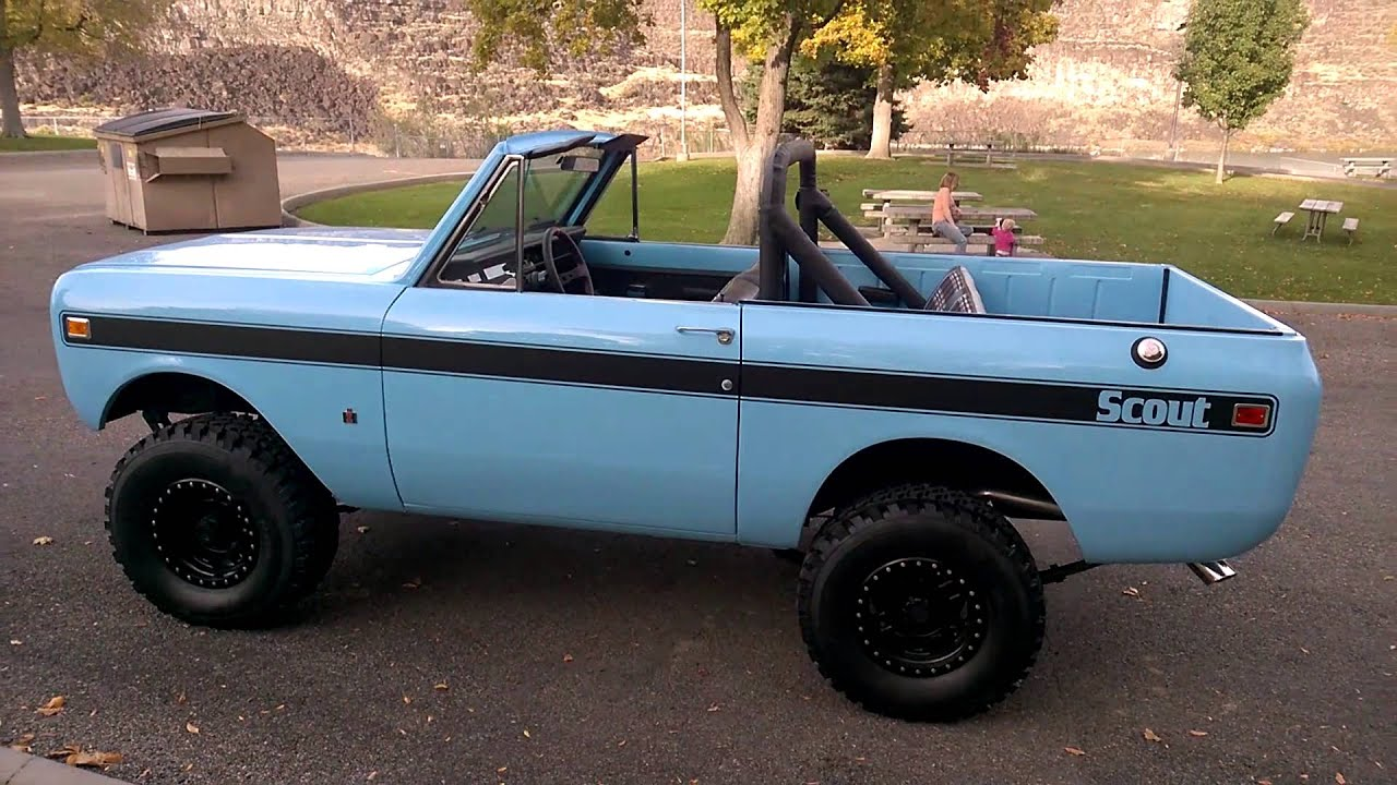 Sell used 1974 International Scout II in Saint James City